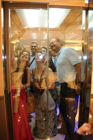 Elevator selfie